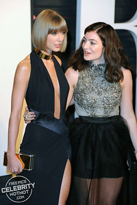 Taylor Swift Poses With Her Bestie Lorde In Los Angeles