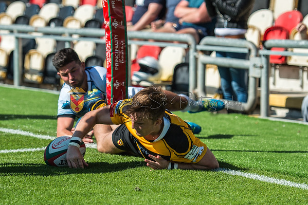 Newport v Cardiff at Rodney Parade, Principality Premiership - East, Sunday 27 August 2017