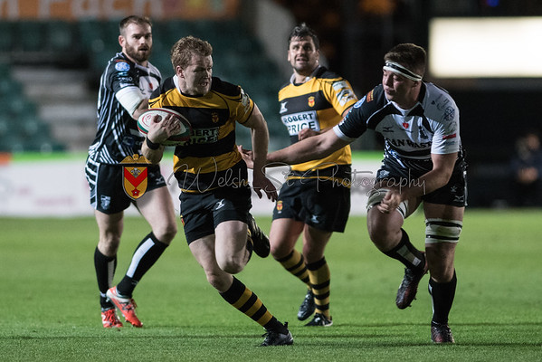 Newport v Pontypridd at Rodney Parade, Principality Premiership, Friday 8 September 2017