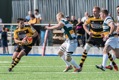 Merthyr v Newport at The Wern, Principality Premiership, Saturday 23 September 2017