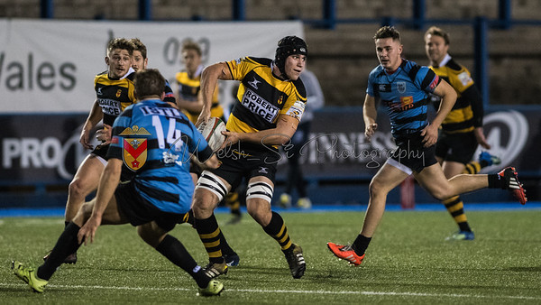 Cardiff v Newport at The Arms Park, Principality Premiership, Friday 27 October 2017