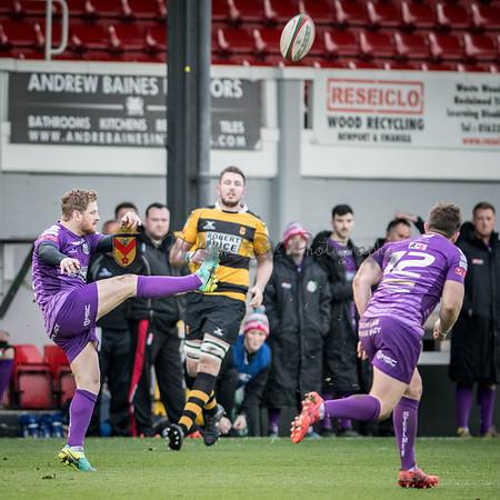 Newport v Ebbw Vale at , Principality Premiership, Sunday 19 November 2017