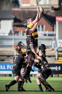 Newport v Merthyr at Rodney Parade, Principality Premiership, Saturday 25 November 2017