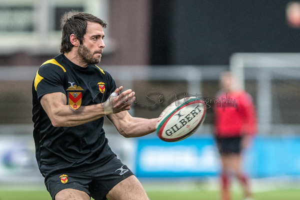WRU National Cup, Newport v Aberavon at Rodney Parade in Newport, South Wales on Sunday 28 January 2018.   Pictures by Simon Latham
