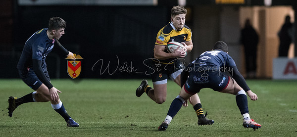 Newport v Llanelli at Rodney Parade, Principality Premiership, Friday 16 February 2018
