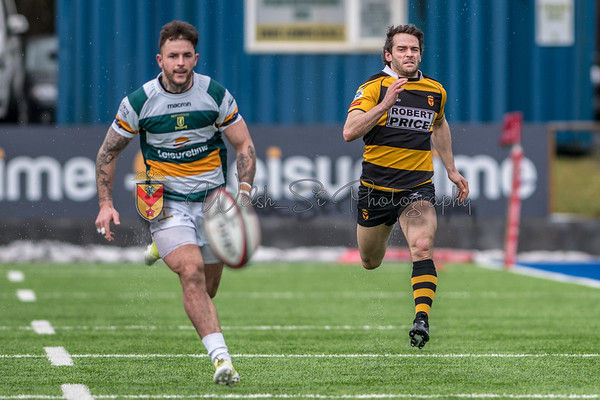 Merthyr v Newport at The Wern, Principality Premiership, Saturday 10 March 2018