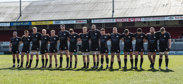 Newport v Neath at Rodney Parade, Principality Premiership, Sunday 25 March 2018