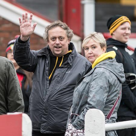 Newport v Llandovery at Talbot Athlectic Ground, WRU National Cup Semi Final, Saturday 7 April 2018