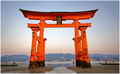 Red Torii  Gate | Miyajima, Japan