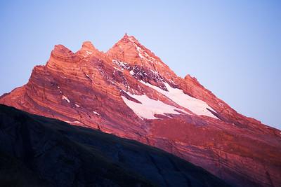Pioneer Peak, just south of the Sierra Range, Douglas Valley
