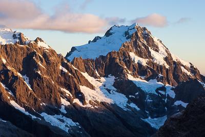 Mount Syme and Mount Madeline, Darran Mountains, Fiordland National Park