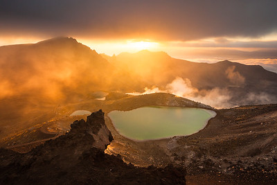 Emerald Lakes, Tongariro Alpine Crossing, Tongariro National Park
