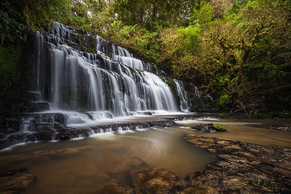 Purakanui Falls, Catlins, Otago