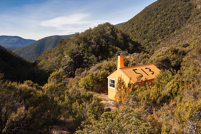 Top Wairoa Hut, Red Hills, Mount Richmond Forest Park