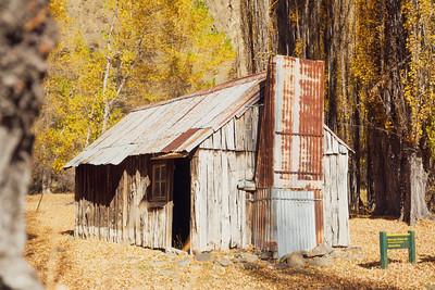Black Spur Slab Hut, Clarence Reserve Ka Whata Tu o Rakihouia Conservation Park, Seaward Kaikoura Range