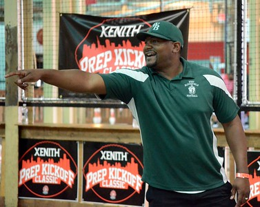 As part of the 2017 Xenith Prep Kickoff Classic, a fowling tournament for participating players and coaches took place from The Fowling Warehouse in Detroit on Thursday. West Bloomfield came away with the tournament championship. (Oakland Press photo by Drew Ellis)