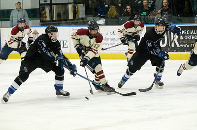 Royal Oak led from start to finish, picking up a 7-3 victory over Berkley in the pre-regional final Tuesday night at Wallace Ice Arena in Bloomfield Hills. (MIPrepZone photo by Jason Schmitt)