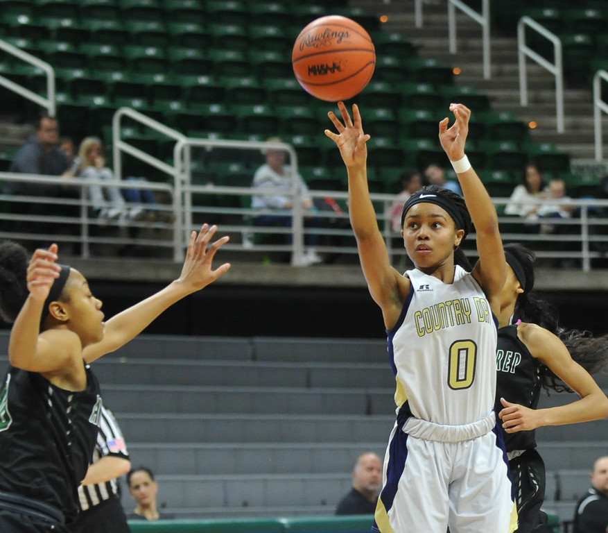 . The Detroit Country Day Yellowjackets won the MHSAA Class B State Title by defeating the Ypsilanti Arbor Prep Gators 59-48.  The Championship game was played on Saturday March 18, 2017 at The Jack Breslin Center in East Lansing.  (MIPrepZone photo by Ken Swart)