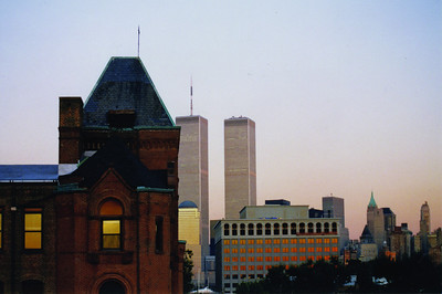 As seen on the cover of the Fall 2011 Prep Magazine, this photo appeared on page 2 of the 2001 Petrean, just months before the 9/11 attacks changed the view from Prep forever.