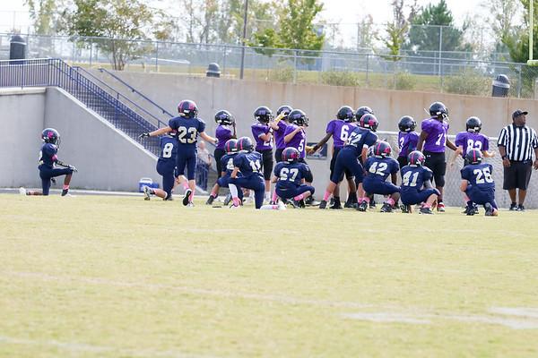 2017 Cuthbertson Middle School vs Porter Ridge