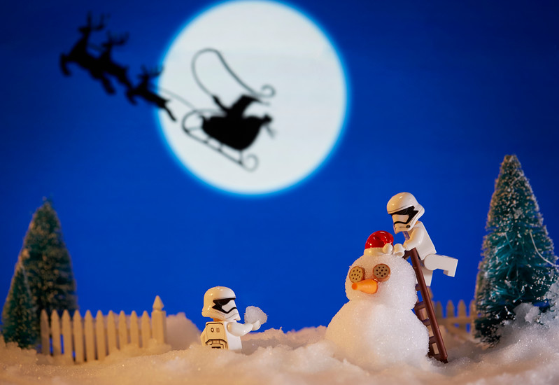 Snow Troopers.