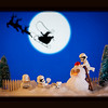 Storm Troopers snow play.