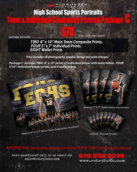 Team Portrait Package C