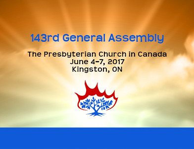 Presbyterian Church General Assembly 2017