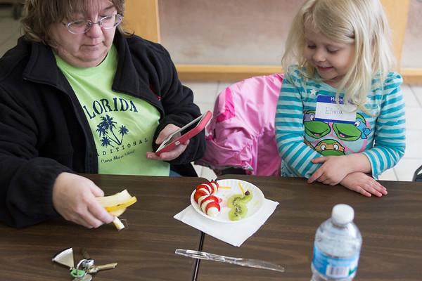 Preschool Nature Explorers meet Silky the Fox Snake at Pioneer Ridge March 18.