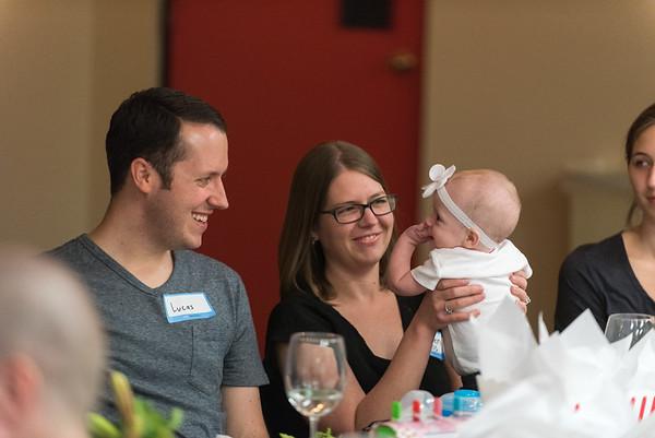 Parent/Baby Dedication Dinner 5.10.17