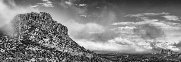 Thumb Butte and Granite Mountain