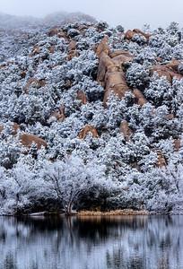 Dusting of Snow at Granite Basin Lake