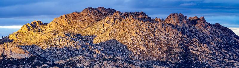Granite Mountain's Summit (7,628 ft.)