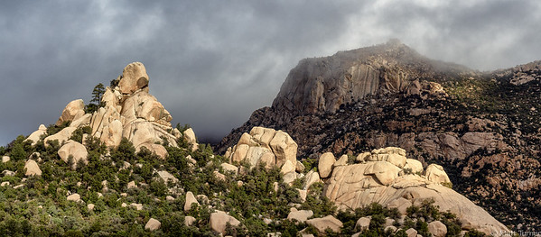 Lizard Head and Main Face of Granite Mountain