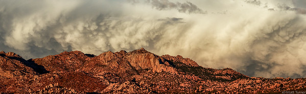Mammatus over Granite Mountain 2