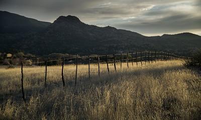 Prescott Sunset Fence