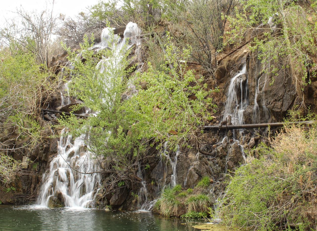Waterfall at Fain Lake - 2018