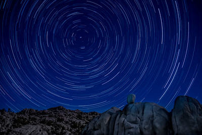 Watson Lake Star trails