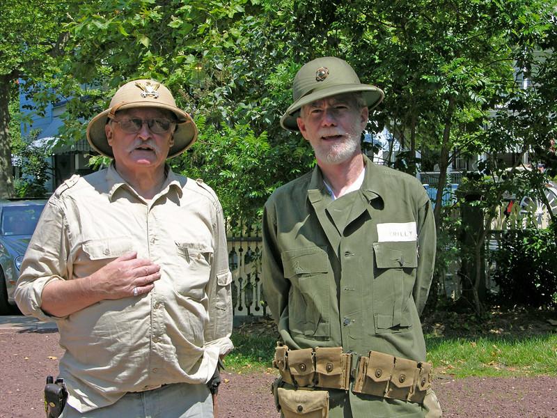 Hugh McCauley (Right) MCB-4
