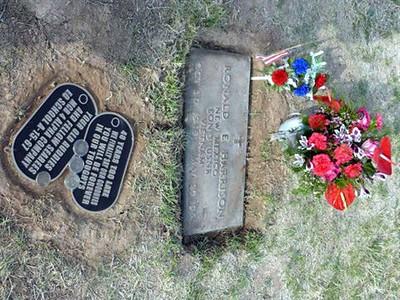 Memorial to Ron Harrison
