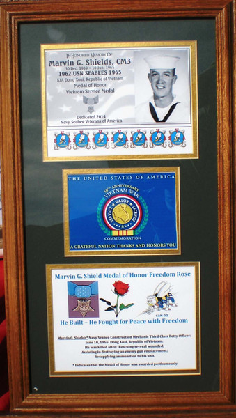 Presented to the Seabee Museum Dedication 07 March 2014