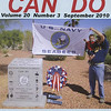 John O'Brien and Grandson on the cover of Can Do magazine