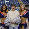 With Pats Cheerleaders