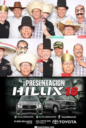 Presentación HILUX Toyota
