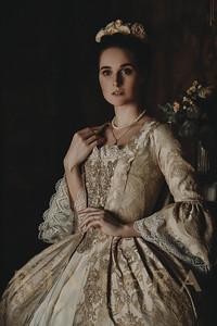 Rococo Marie Antoinette XVIII century