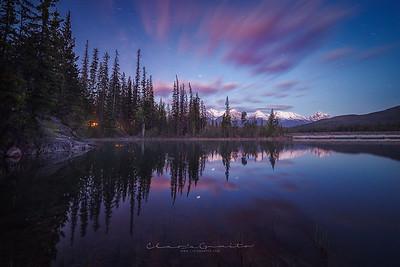 9/52  - Dawn at Pyramid Lake