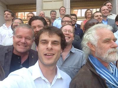 National Geographic Explorer's Symposium 2015. Not in order: colby bishop, daniel raven-ellison, spencer wells, elizabeth lindsey, lee r. berger, mark thiessen, losang rabgey, syliva a. earle, cheryl zook, corey jaskolski, maggie hines, enric sala, zeb hogan, dave yoder, thomas henry culhane,