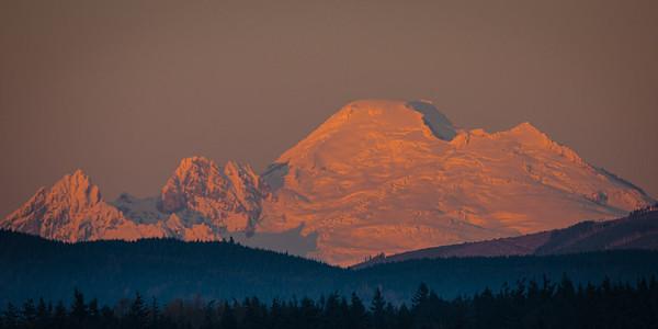 Mt Baker from Eide Rd