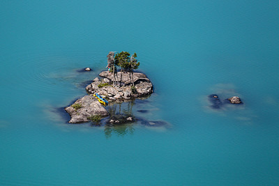 Diablo Lake Island