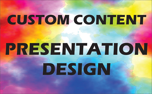 MULTI MEDIA CONTENT & PRESENTATION DESIGN